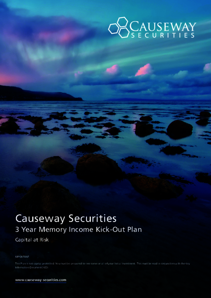 Causeway Securities Memory income Kick-Out Plan
