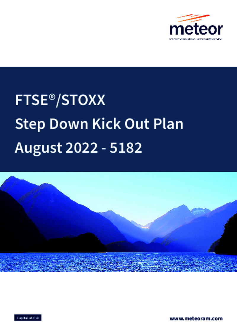 FTSE STOXX Step Down Kick Out Plan October 2020