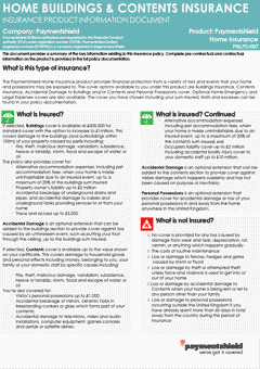 Download Paymentshield's policy summary information sheet