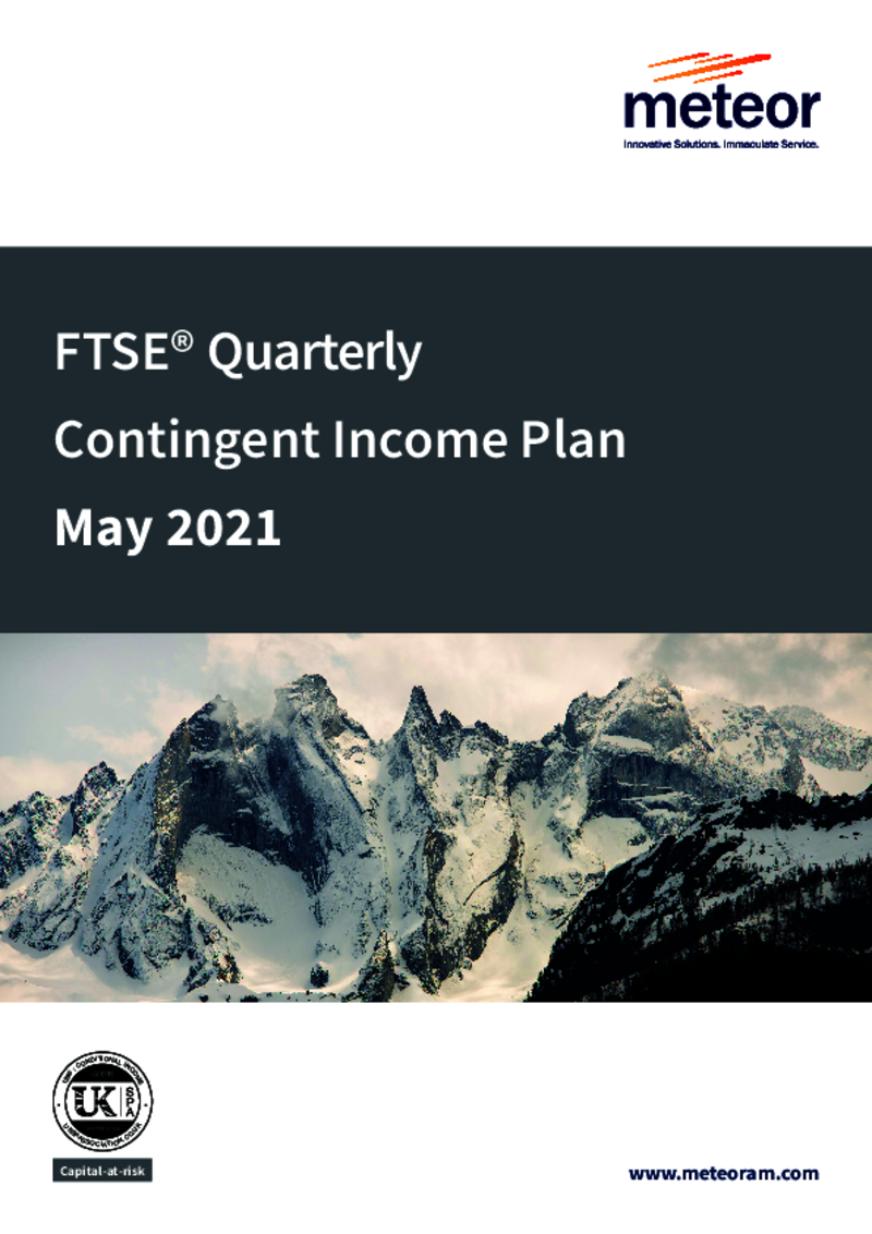 Meteor FTSE Quarterly Contingent Income Plan October 2020 (Option 2)