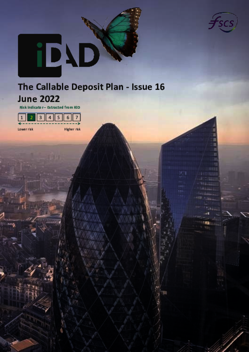 IDAD Callable Deposit Plan February 2019
