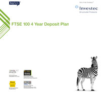 FTSE 100 4 Year Deposit Plan 16 brochure