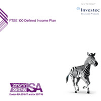 FTSE 100 Defined Income Plan 4 brochure