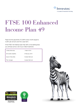 FTSE 100 Enhanced Income Plan 47