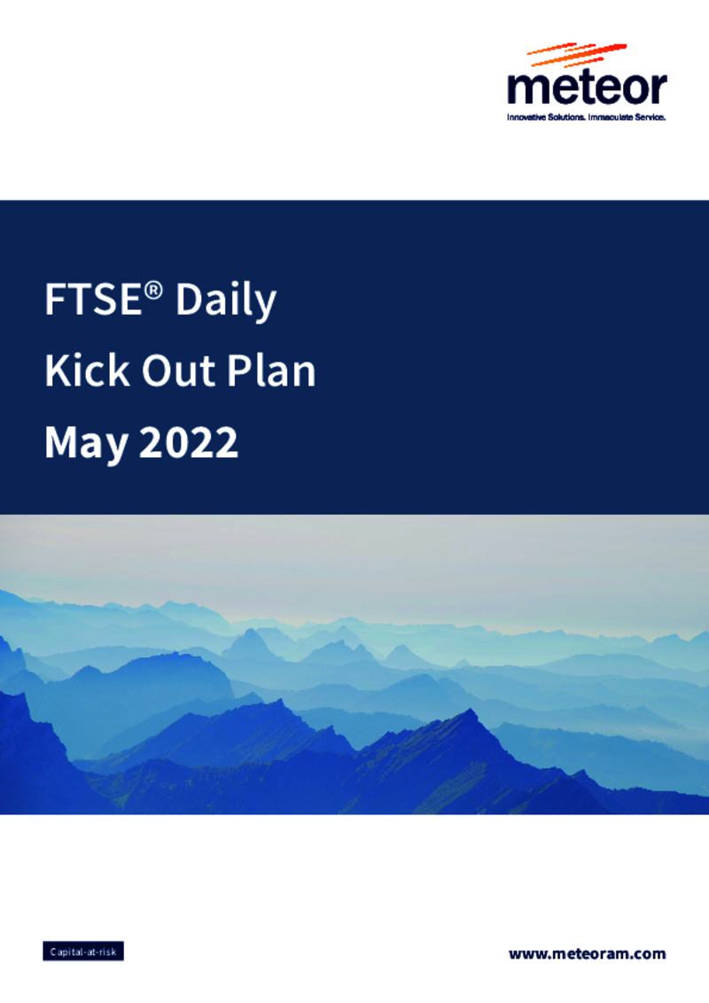 FTSE® Daily Kick Out Plan January 2020 - Option 1