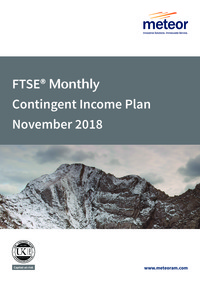 FTSE Monthly Contingent Income Plan June 2017 Option 1 brochure