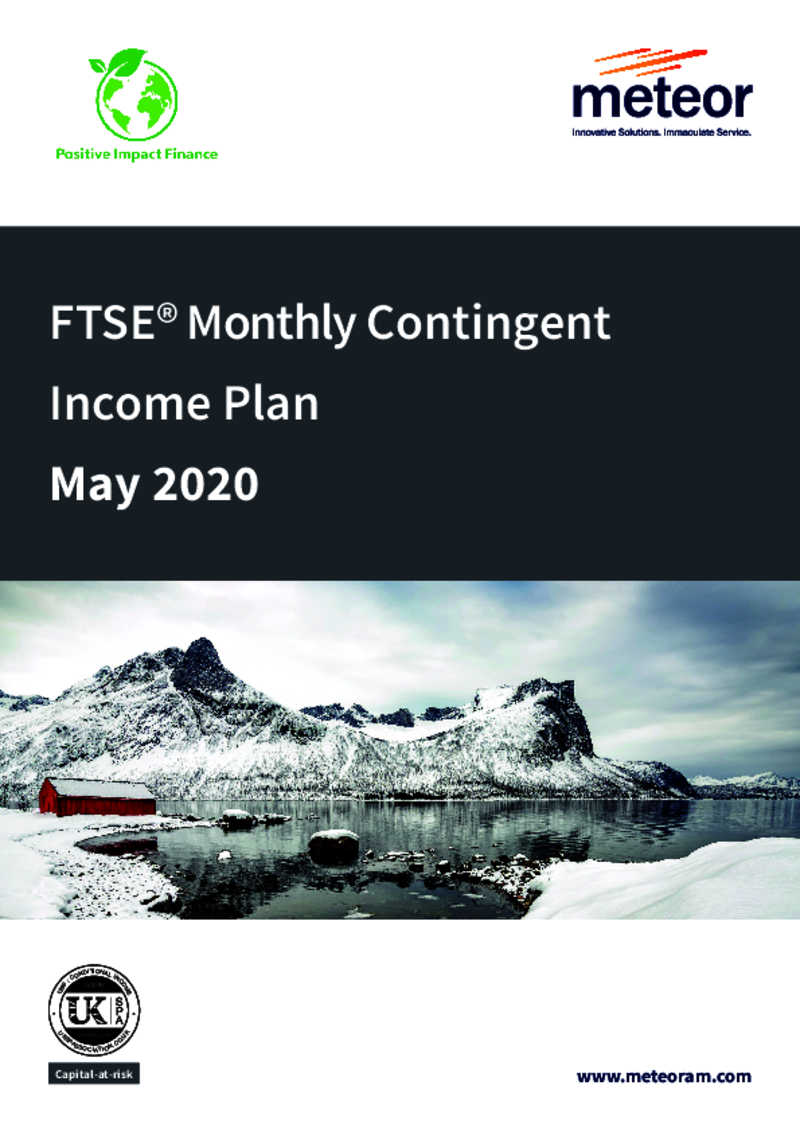 FTSE Monthly Contingent Income Plan May 2018