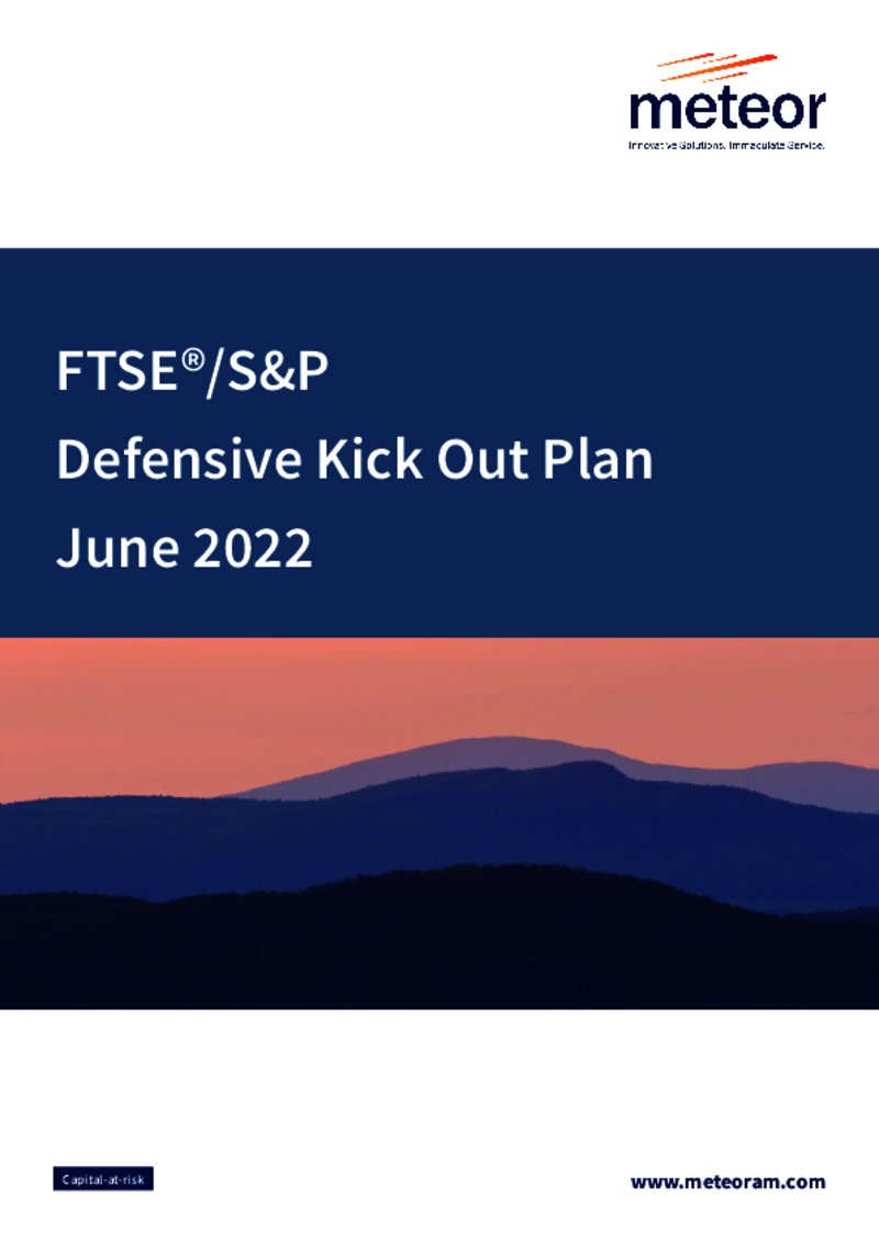 FTSE S&P Defensive Kick Out Plan October 2019