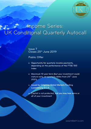 UK Conditional Quarterly Autocall Issue 4