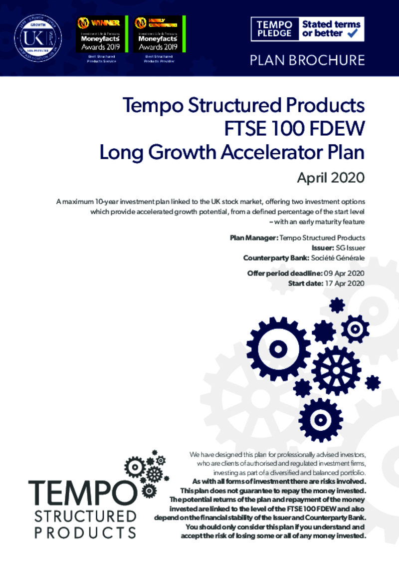 Long Growth Accelerator Plan February 2019 : Option 2