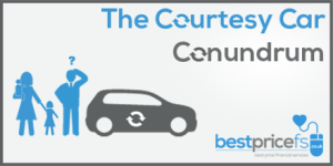 Courtesy Car hire insurance