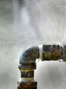 burst pipe home emergency